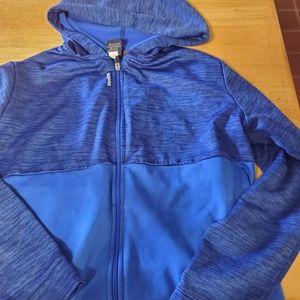 Blue Boy's Reebok hoodie